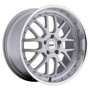 17x8 TSW Valencia (Silver w/ Mirror Lip) Wheels/Rims 5x112