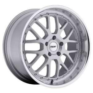 17x8 TSW Valencia (Silver w/ Mirror Lip) Wheels/Rims 5x112