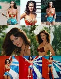 LYNDA CARTER WONDER WOMAN 1970s RARE (17) PHOTOS 2x8x10