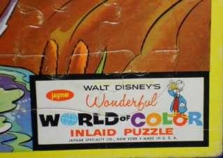 Walt Disneys World of Color Puzzle 3 Little Pigs & Fox