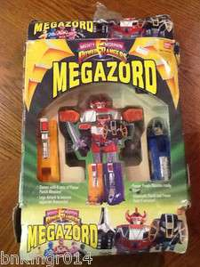 Vintage Bandai Mighty Morphin Power Rangers Megazord