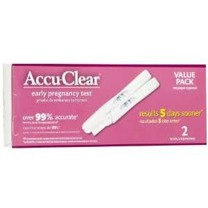 Accu Clear Pregnancy Test: Health & Personal Care