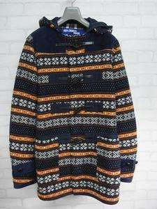 COMME des GARCONS JUNYA WATANABE MAN__Nordic Pattern Duffel Coat