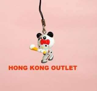 Hello Kitty CellPhone Charm Strap Baseball Sanrio F15f