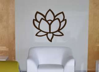 Beautiful Lotus Flower 2 Removable Wall Art Decal