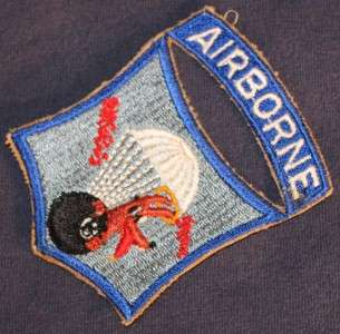 511th Airborne Parachute Infantry Regiment Patch * WWII * No Glow