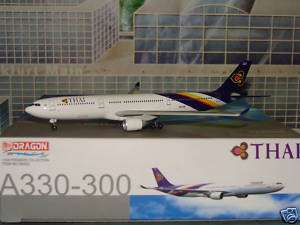 Dragon Wings Thai Airbus A330 300 New COlor