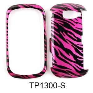 Verizon Lg Octane Vn530 Accessory   Pink Black Zebra Protective Hard