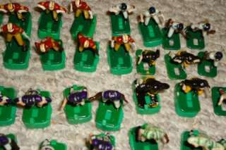 VINTAGE TUDOR ELECTRIC FOOTBALL NFL TEAMS, PLAYERS LOT of 83