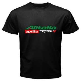 APRILIA ALITALIA Max Biaggi SBK MotoGP Tshirt S 3XL