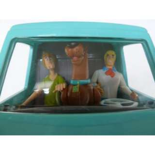 Scooby Doo Mystery Machine Toy Featuring Scooby, Fred, Shaggy Action