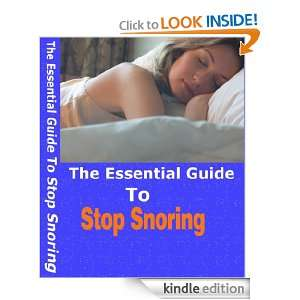 The Essential Guide To Stop Snoring Geoffrey Mejari