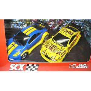 SCX Compact 1 43 Scale Tuning Cars 2 Pack Toys & Games
