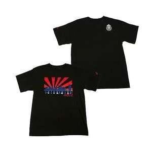 adidas CD Chivas USA Sunset T Shirt   Black XX Large