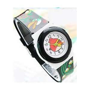 1 Pc Angry Bird Wrist Watch Band Color Black ~ Brand New
