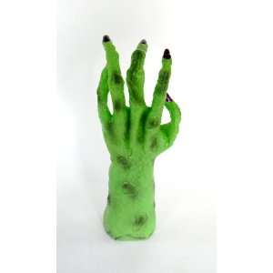 Animated Moving Talking Halloween Witch Hand 11 1/2 Tall