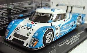 IT SW05 LEXUS TELMEX RILEY MKxx DAYTONA PROTOTYPE NEW 1/32 SLOT CAR