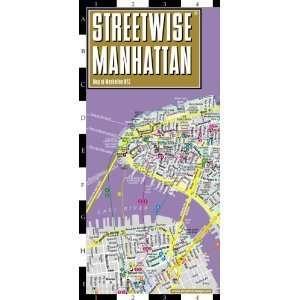 Streetwise Manhattan Map   Laminated City Street Map of Manhattan, New