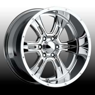 Ultra Predator Chrome 20x10 Chevy Dodge Ford GMC