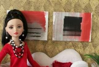 Tonner,Tyler Barbie, Ellowyne Doll Modern Art Abstract