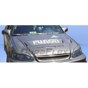 1999 2000 Honda Civic Duraflex Predator Hood Automotive