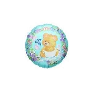 4 Baby Boy Bear   Mylar Balloon Foil Health & Personal