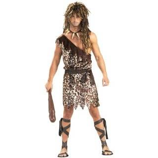 Mens Jungle Jim Costume Prehistoric Caveman Costume (1