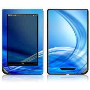 Nook Color Decal Sticker Skin   Abstract Blue