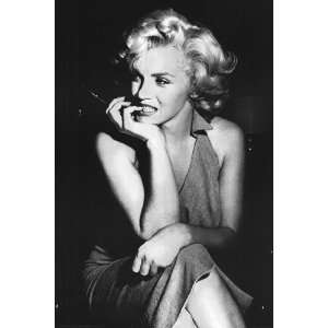Marilyn Monroe   Dress by Unknown 24x36