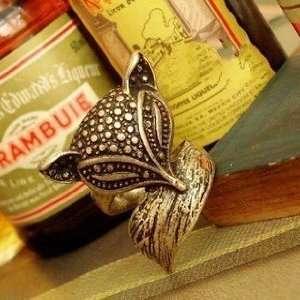 Vintage Style Bronze Beautiful Fox Ring New