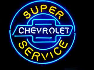 CHEVROLET AMERICAN AUTO BEER BAR NEON LIGHT SIGN me134