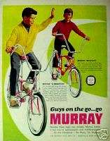 Go Murray Bicycles Eliminators~Wildcat Boys Chritmas Be Marry Bikes AD