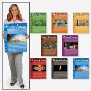 Holy Week Learning Charts   Teacher Resources & Posters