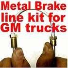 Brake line kit for both Chevy & GMC trucks 1988 1989 1990 1991