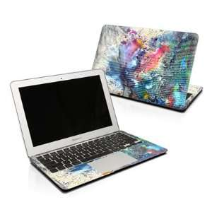 Cosmic Flower Design Skin Decal Sticker for Apple MacBook