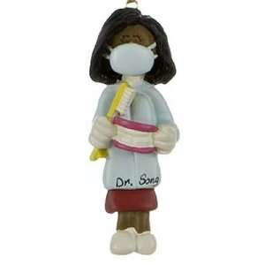 Personalized Ethnic Dentist / Dental Hygienist   Female