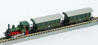 Steam Locomotive Train Set Green (Pocket Line Series)   Kato 10 500 1