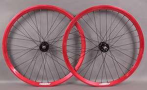 Chukker Fixed Gear Singlespeed Track Bicycle Bike Wheels Wheelset