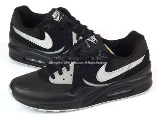 Nike Air Max Light Black/Metallic Silver Running Shoes
