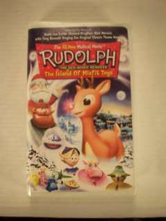Rudolph The Island Of Misfit Toys Childrens VHS Tape 018713774422