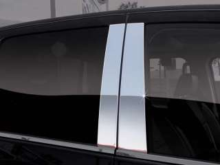CRUISER CHROME Pillar door cover post window mirror trim ss c