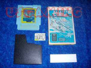 NES Nintendo Game MISSION COBRA   BOXED 016315730020