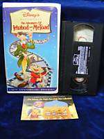 Disneys The Adventures of Ichabod & Mr. Toad VHS 50th Anniversary