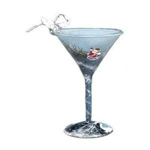 Martini Glass Christmas Ornament Around the World