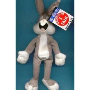 Warner Brothers Talking Bugs Bunny Bean Bag