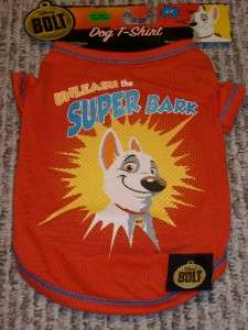 Disney Bolt Dog Cat Pet T Tee Shirt bark NEW ~YouPick