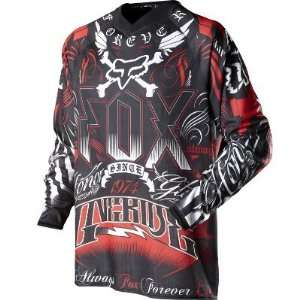 Fox Racing 360 Houston Victory Jersey Black/Red L