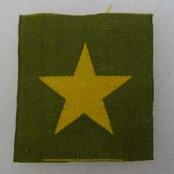 ORIGINAL WW2 VINTAGE IMPERIAL JAPANESE ARMY CAP STAR