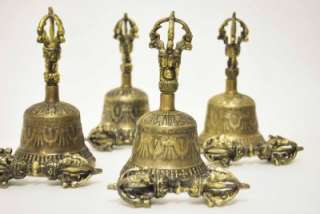 TIBETAN MEDITATION BELL GHANTI DORJE SUBSTITUTE SINGING BOWL