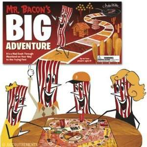 Mr. Bacons Big Adventure Board Game  Grocery & Gourmet